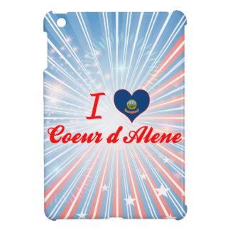 I Love Coeur d'Alene, Idaho Case For The iPad Mini