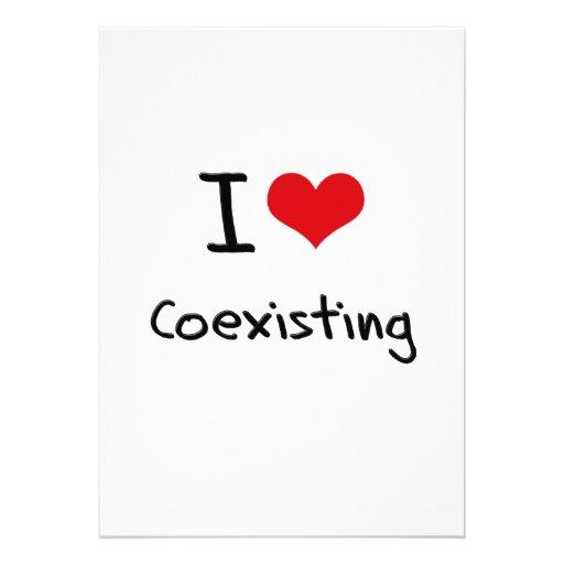 I love Coexisting Custom Invites