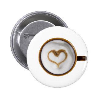 I Love Coffee 03 6 Cm Round Badge