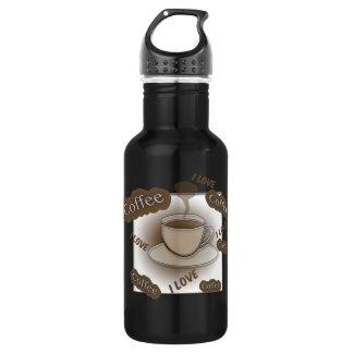 I Love Coffee Cup 532 Ml Water Bottle