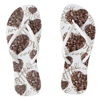 """I Love Coffee!"" Flip Flops"