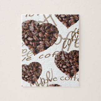 """I Love Coffee!"" Jigsaw Puzzle"