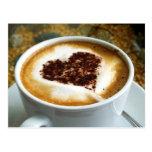I Love Coffee - Latte Art Post Cards