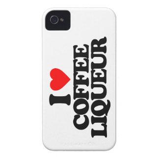I LOVE COFFEE LIQUEUR iPhone 4 Case-Mate CASES