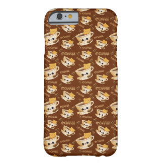 I love Coffee Pattern Barely There iPhone 6 Case