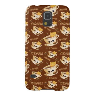 I love Coffee Pattern Galaxy S5 Covers