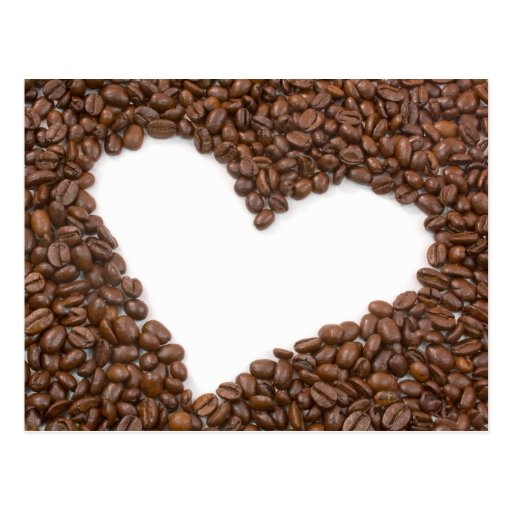I Love Coffee Postcards