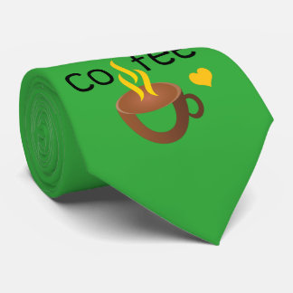 I love coffee super cool, crazy and awesome tie