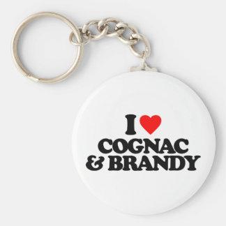 I LOVE COGNAC & BRANDY KEY CHAIN