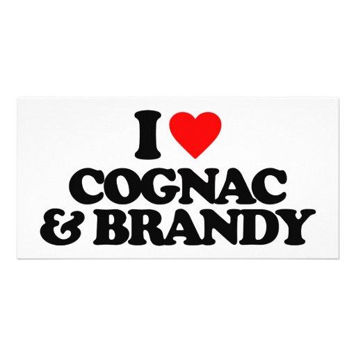 I LOVE COGNAC & BRANDY PHOTO CARD