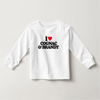 I LOVE COGNAC & BRANDY T-SHIRTS