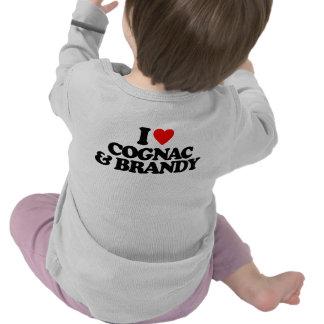 I LOVE COGNAC & BRANDY T SHIRT
