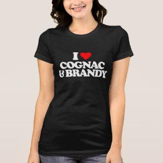 I LOVE COGNAC & BRANDY T-SHIRT