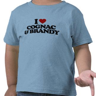 I LOVE COGNAC & BRANDY TSHIRTS