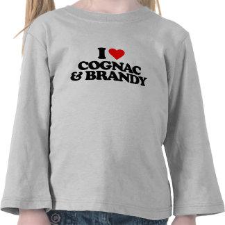 I LOVE COGNAC & BRANDY TEE SHIRTS
