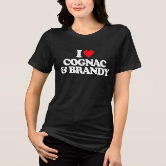 I LOVE COGNAC & BRANDY TSHIRT