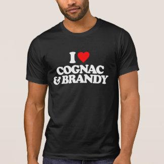 I LOVE COGNAC & BRANDY TEE SHIRT