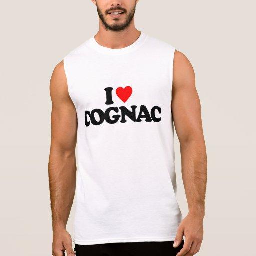 I LOVE COGNAC SLEEVELESS T-SHIRT