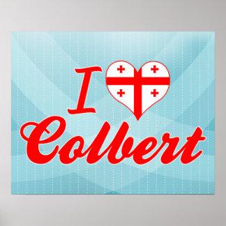 I Love Colbert, Georgia Print