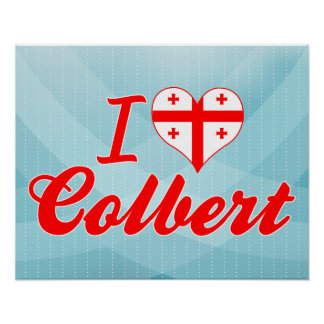 I Love Colbert, Georgia Poster