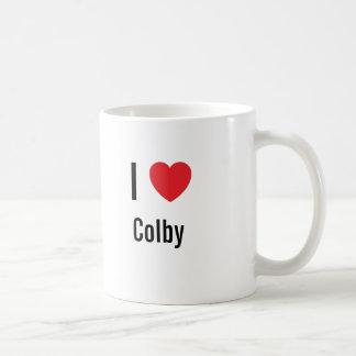 I love Colby Basic White Mug