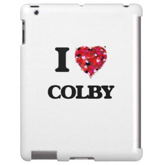 I Love Colby iPad Case
