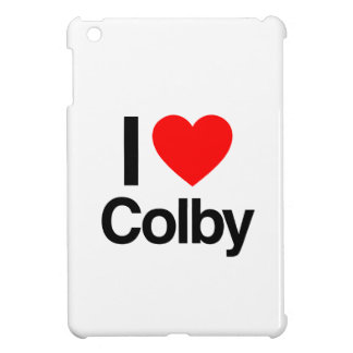i love colby iPad mini cases