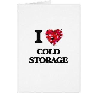 I love Cold Storage Massachusetts Greeting Card
