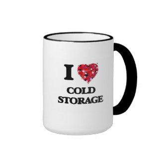 I love Cold Storage Massachusetts Ringer Mug