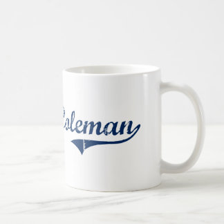 I Love Coleman Michigan Basic White Mug