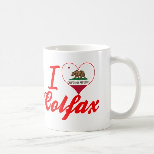 I Love Colfax, California Classic White Coffee Mug
