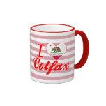 I Love Colfax, California Coffee Mugs
