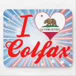 I Love Colfax, California Mouse Pad