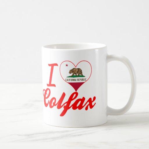 I Love Colfax, California Mugs