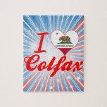 I Love Colfax, California Puzzles