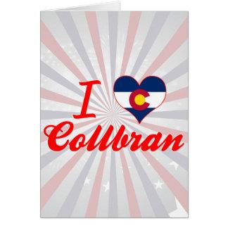 I Love Collbran, Colorado Card