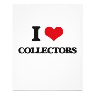 I love Collectors 11.5 Cm X 14 Cm Flyer