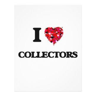 I love Collectors 21.5 Cm X 28 Cm Flyer
