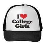 I Love College Girls Cap