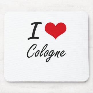 I love Cologne Artistic Design Mouse Pad