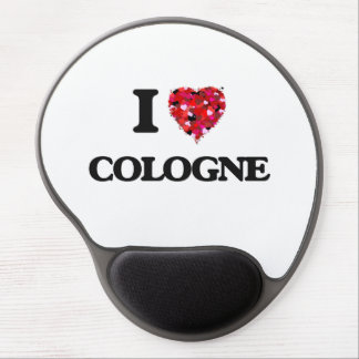I love Cologne Gel Mouse Pad