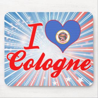 I Love Cologne, Minnesota Mouse Pad
