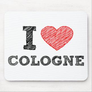 I Love Cologne Mouse Pad