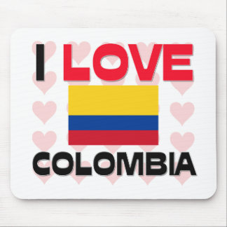 I Love Colombia Mouse Mat