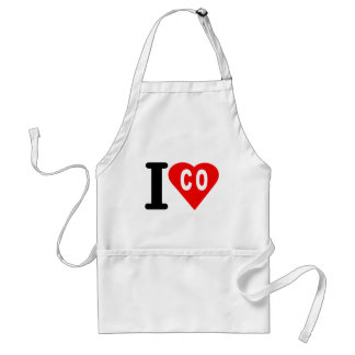 i_love_Colombia.png Standard Apron