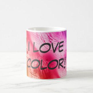 I Love Color! Basic White Mug