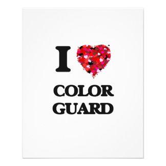 I Love Color Guard 11.5 Cm X 14 Cm Flyer