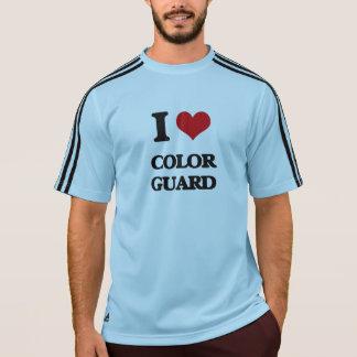 I Love Color Guard T Shirt