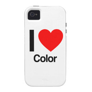 i love color vibe iPhone 4 covers