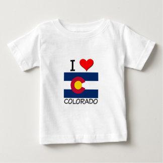 I Love Colorado Baby T-Shirt